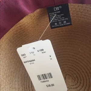 D&Y Accessories - Beautiful two tone sun hat large brim
